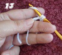 Crochet Circle - Step 13
