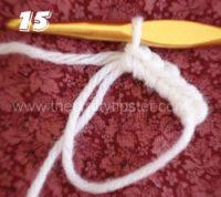 Crochet Circle - Step 15