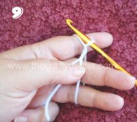 Crochet Circle - Step 9