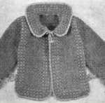 Vintage Children's Crochet Jacket Pattern