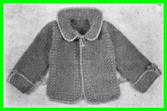 crochet jacket pattern