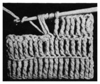 English Crochet Stitch Guide