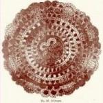 Vintage Crochet D'Oyley Pattern