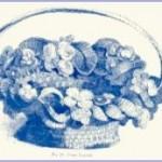 Fancy Crochet Flower Basket