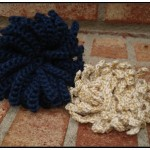 Crochet Flower Pattern - Snowball Mum