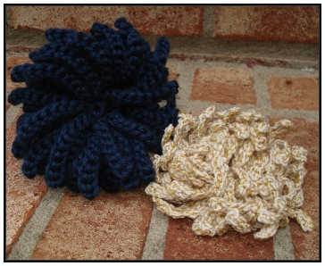 Crochet Flower Pattern – Snowball Mum