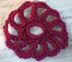 Irish Crochet Flower Pattern