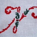 Christmas Embroidery Alphabet Pattern