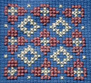 Cross Stitch Background 1