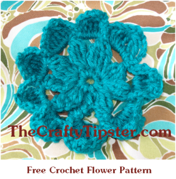 Free Crochet Pattern Large Flower : My Crochet Knitting Space Apps Directories