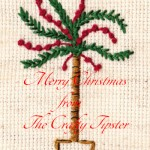 Christmas Palm Tree Embroidery