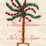 Christmas Palm Tree Embroidery