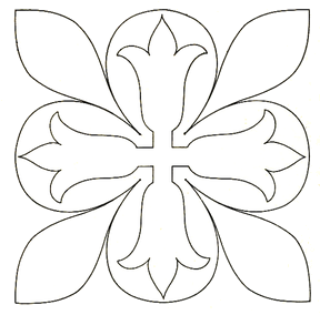 flower on flower embroidery design