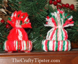 christmas hat ornaments