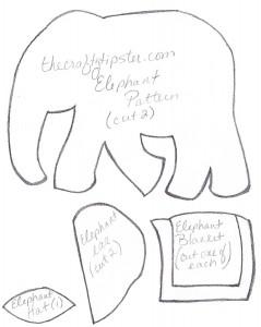 thecratftytipster-elephant-pattern