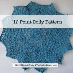 12 Point Afghan or Doily Pattern
