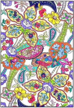 Adult Coloring Books - The Crafty Tipster