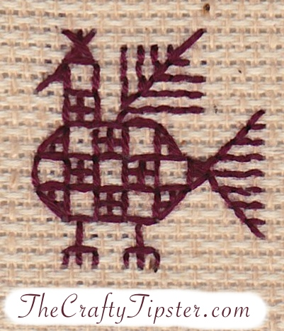 Russian Chicken Pattern