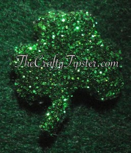 glittered-shamrock