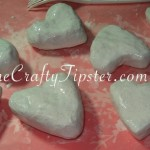 Paper Mache Hearts - Part 1