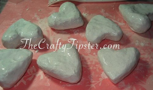 Paper Mache Hearts – Part 1