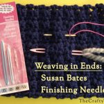Susan Bates Finishing Needles