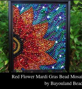 Mardi Gras Beads Crafts