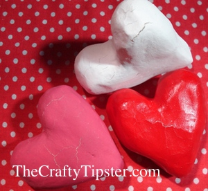 Paper Mache Hearts - Part 2 - The Crafty Tipster