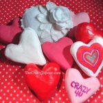 Paper Mache Hearts - Part 2
