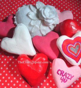 Paper Mache Hearts – Part 2