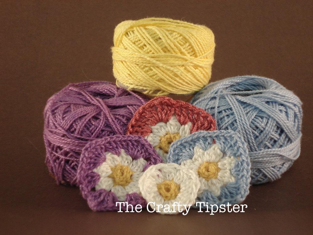 Motifs made by Michele with Kurtzy Crochet Thread